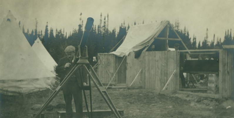 'The Chief' during Eclipse Expedition
