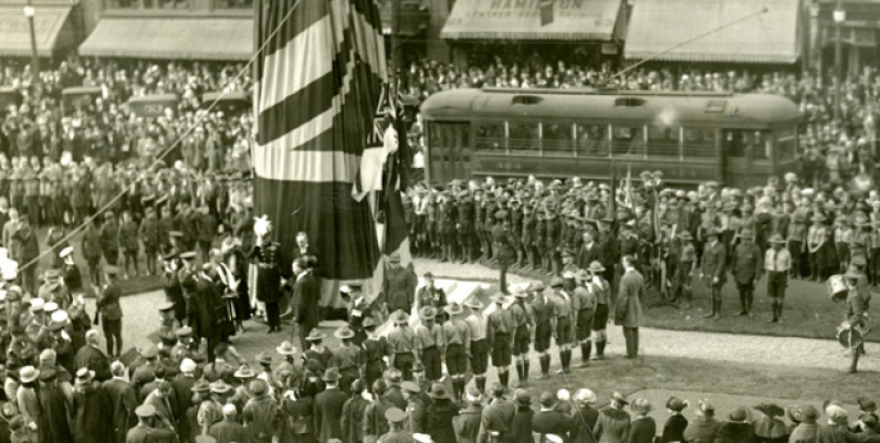 Dedication of the Cenotaph, 1923