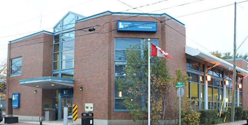photo of the concession branch of hamilton public library