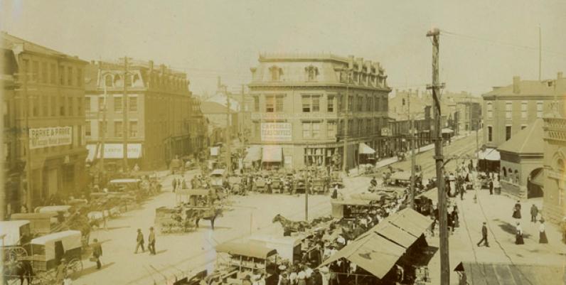Hamilton Market, 1870s