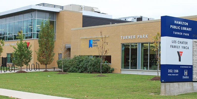 photo of turner park branch of hamilton public library