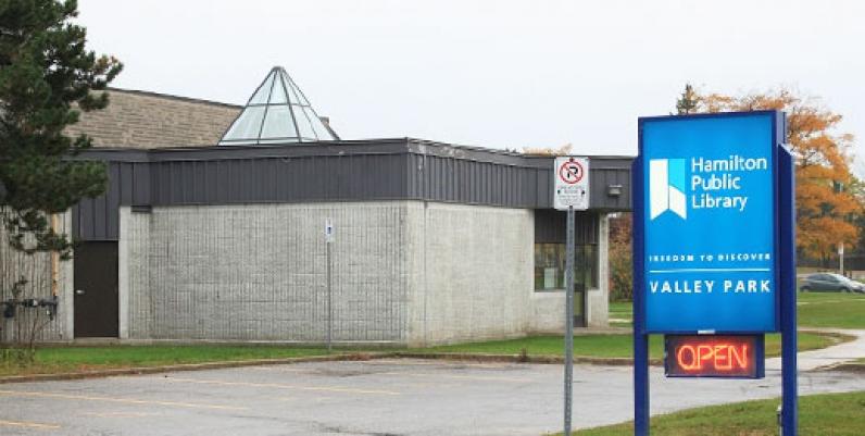 photo of valley park branch of hamilton public library