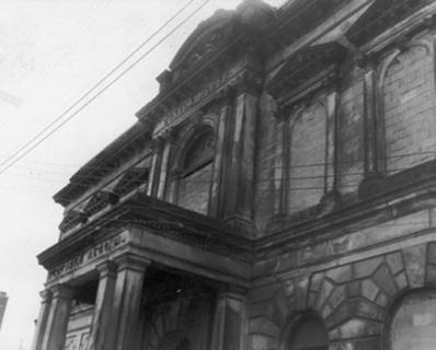 Custom House before restoration, Hamilton