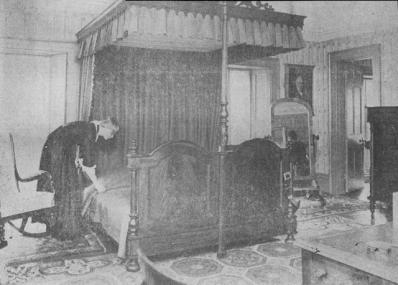 Bedroom at Dundurn Castle, Hamilton