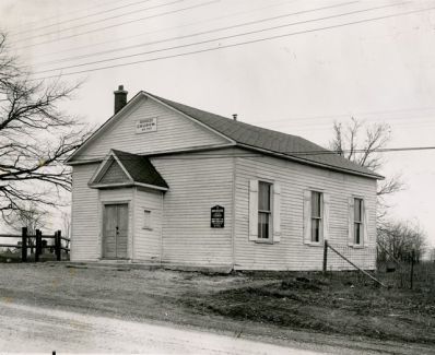 Burkholder United Church in 1955