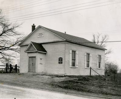 Burkholder United Church in 1955