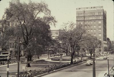 Gore Park, 1950s