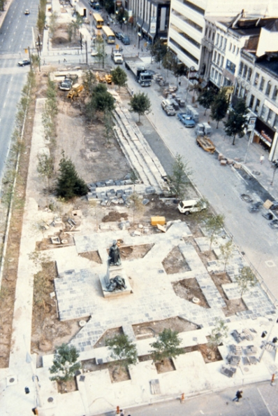 Gore Park renovations begin again