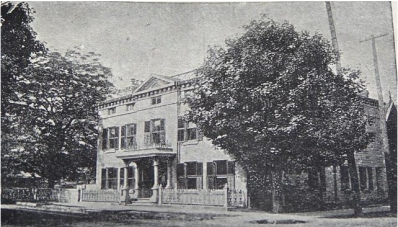 The original home of the Hamilton Conservatory of Music