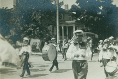 Loyal Orange Association Parade in the early 1900's