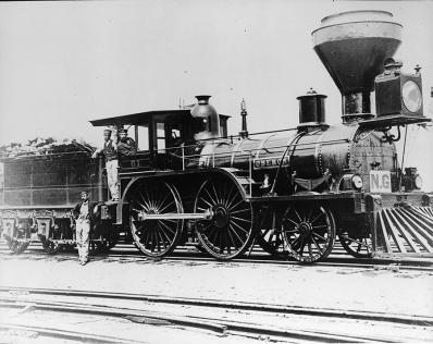 "Great Western Railway Locomotive #51 ""Oberon"""