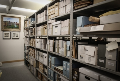 Archives shelving