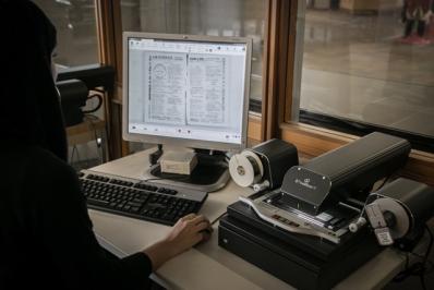 Digital Microfilm Reader
