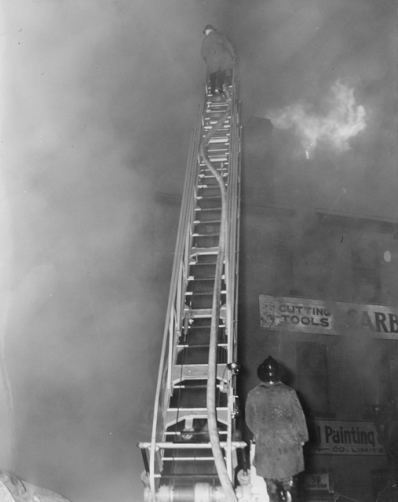 Ontario Furniture Company Fire, April 13, 1948