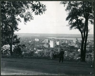 Downtown Hamilton from the Niagara Escarpment, 1963