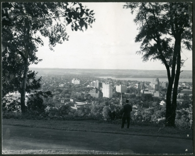 Downtown Hamilton from the Niagara Escarpment, 1963