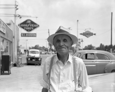 Vernon Martin in Ryckman's corners, August 1, 1959