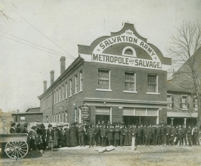 Salvation Army Metropole, April 18, 1910