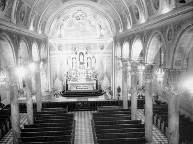St. Stanislaus Roman Catholic Church Interior, 1962